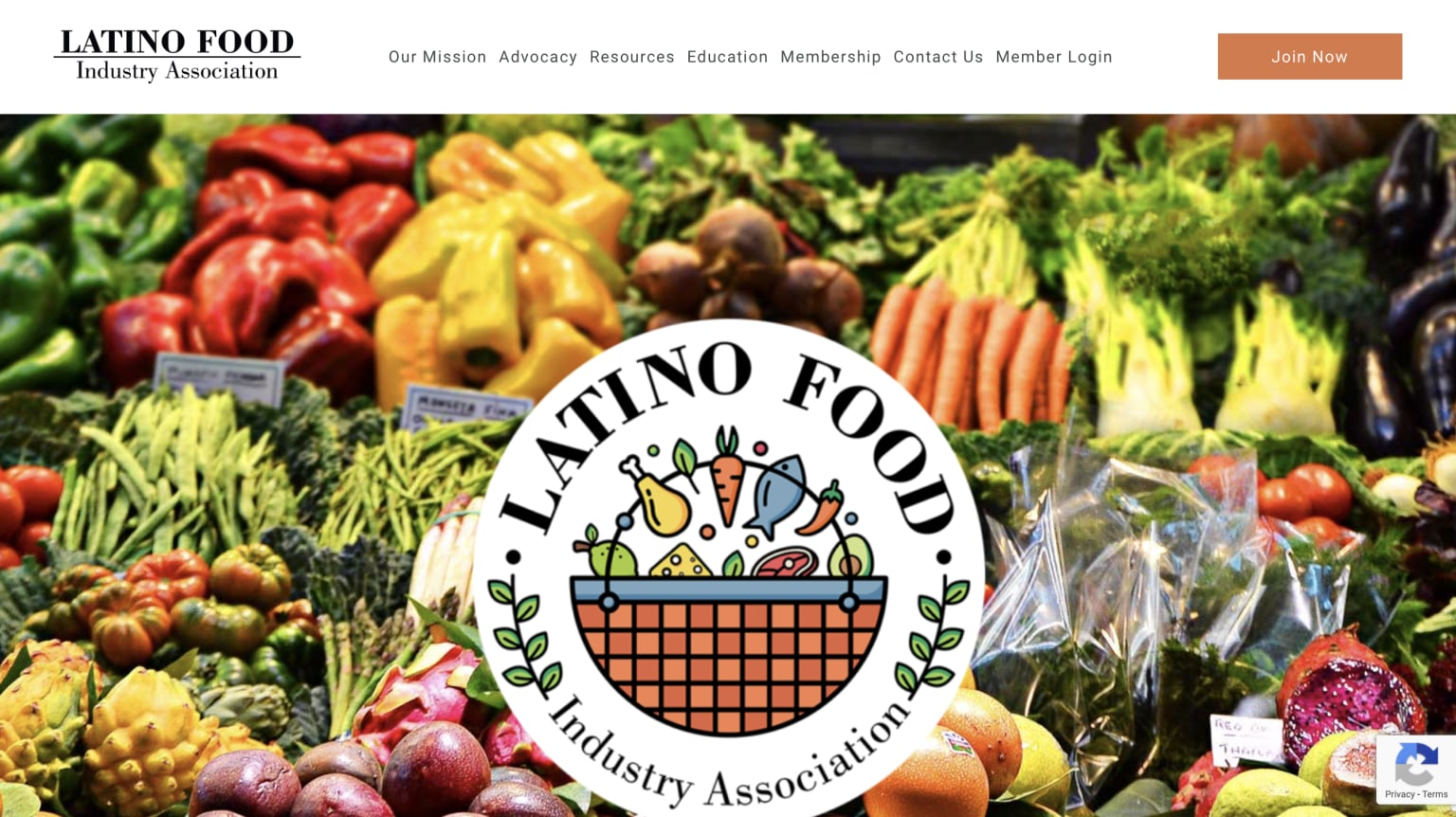 Latino Food Industry Association New Website