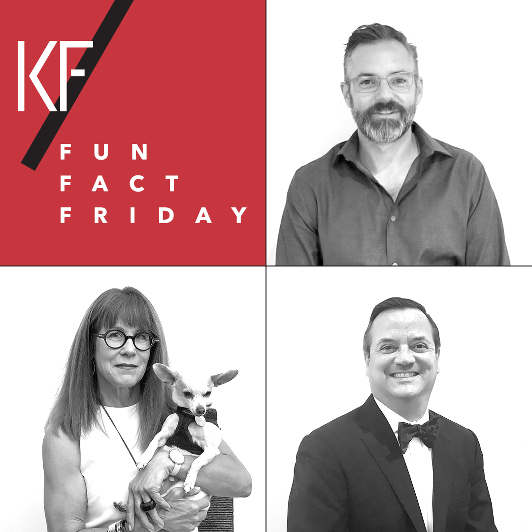Kneedler Fauchere #FunFactFriday Social Campaign