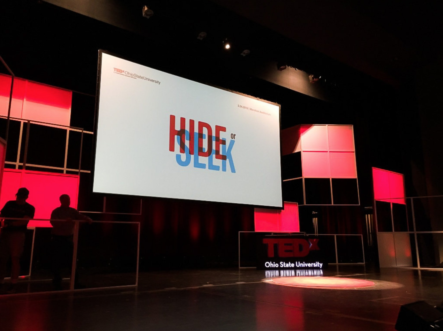 TEDxOhioStateU: Hide or Seek