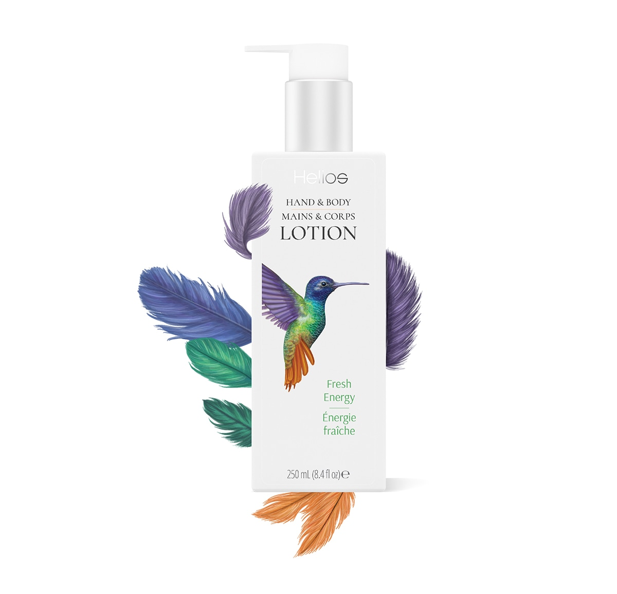 ILlustrations for packaging design. Helios lotion