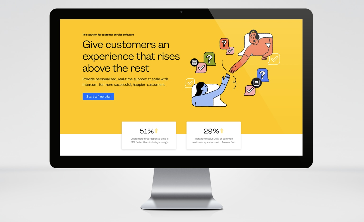 Intercom for Sales, Marketing & Support
