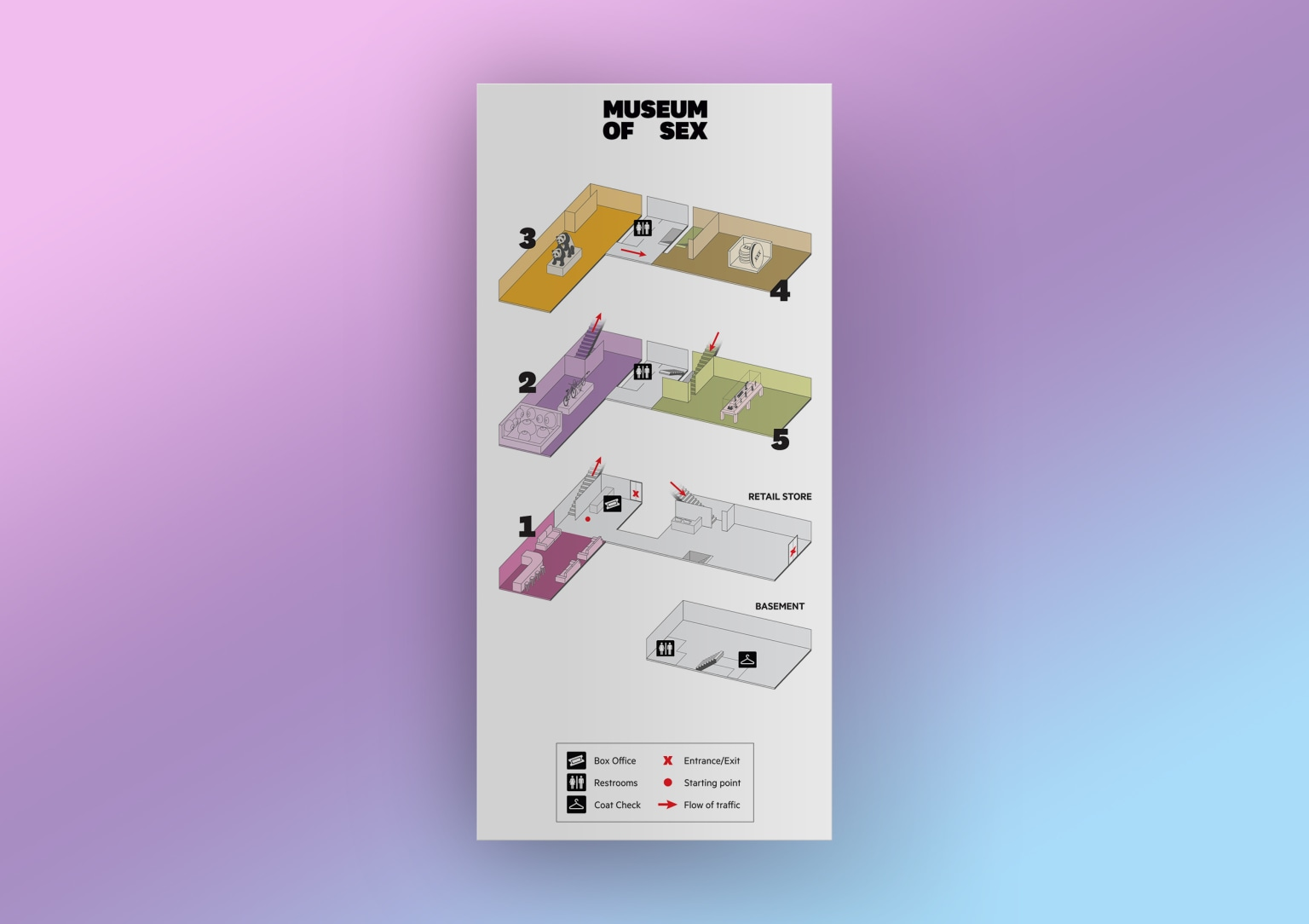 Museum Of Sex Visitors Guide Summer 2017 Map