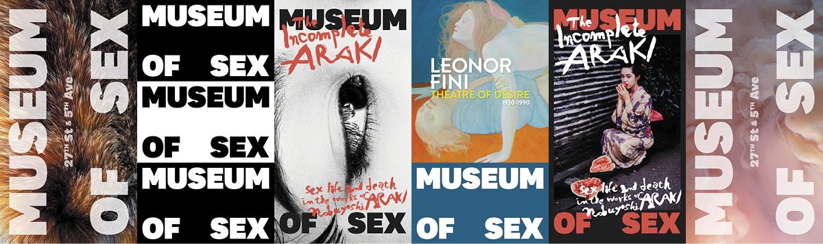 2018 Museum of Sex Bus Shelters