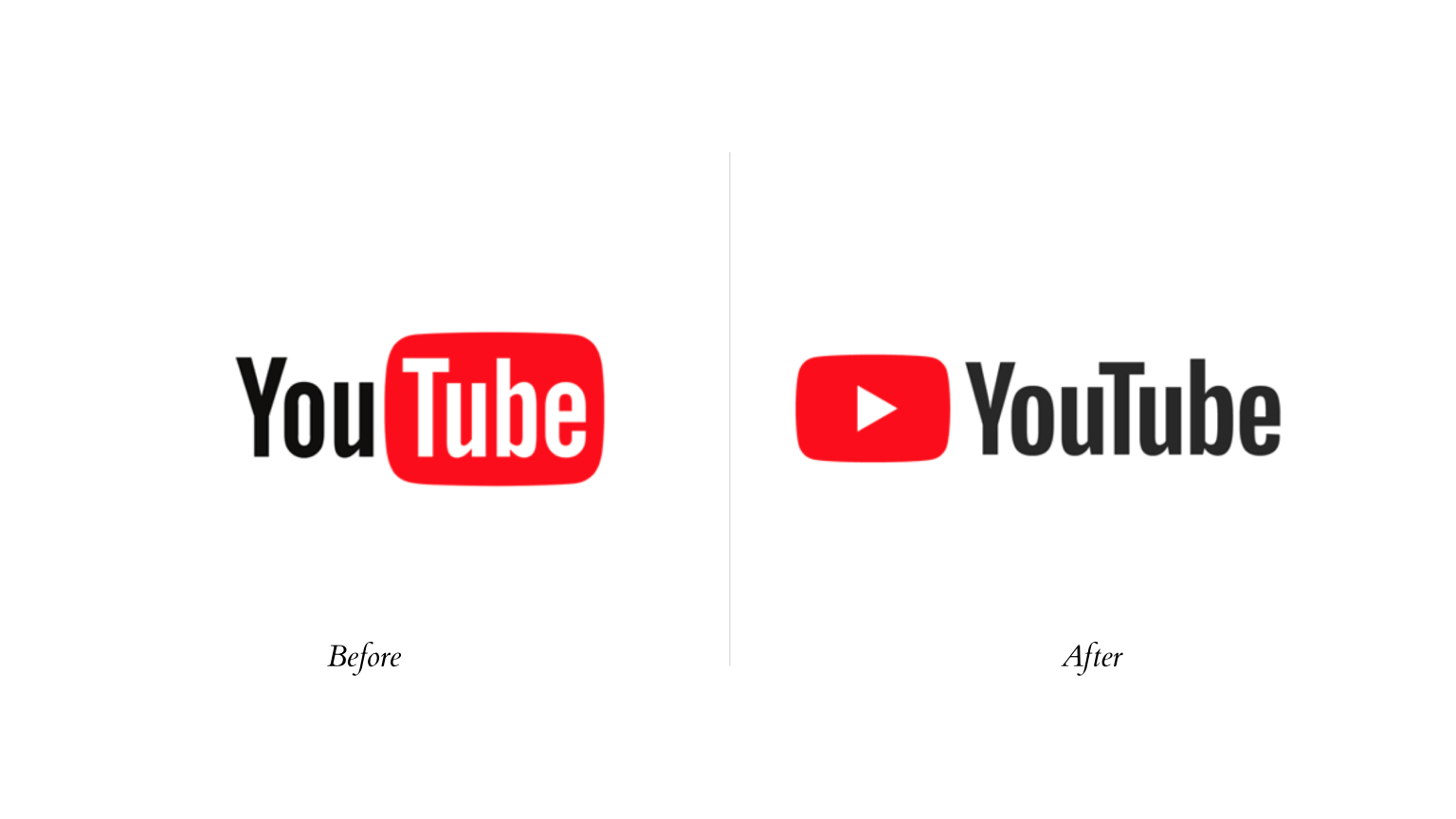 YouTube Rebrand