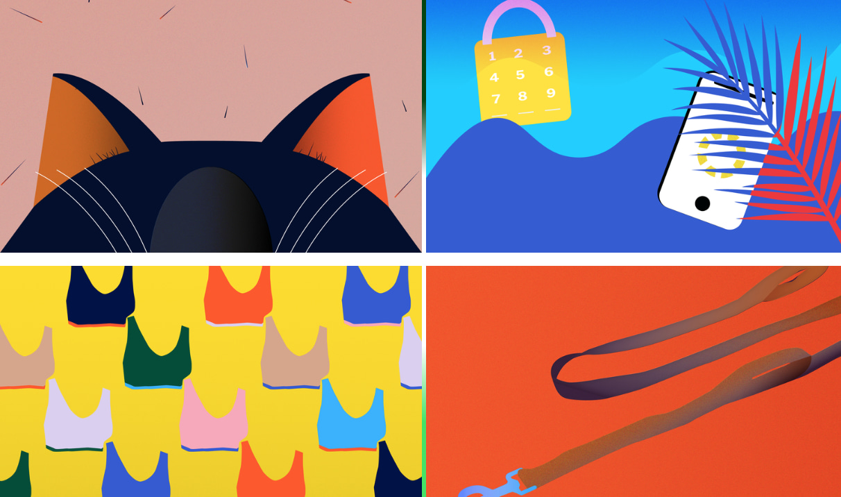 NYT x Wirecutter Editorial Illustrations