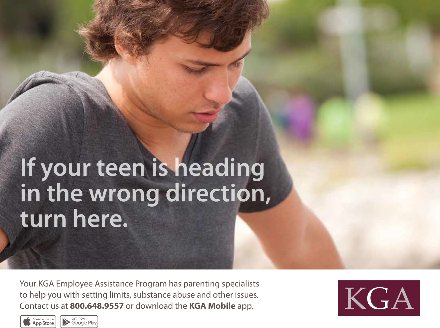 KGA Employee Assistance Poster Campaign