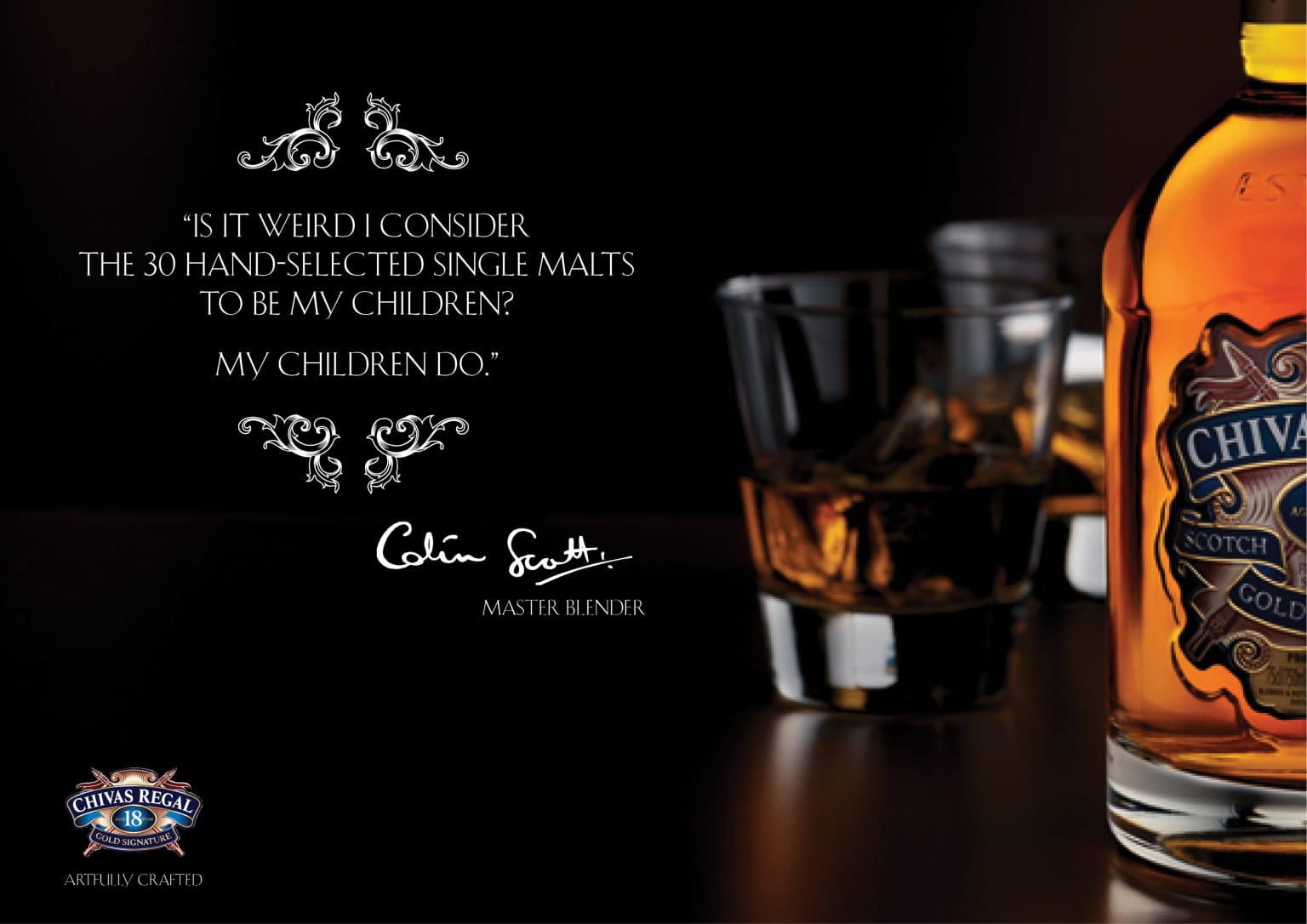 Chivas Regal 18 year Scotch