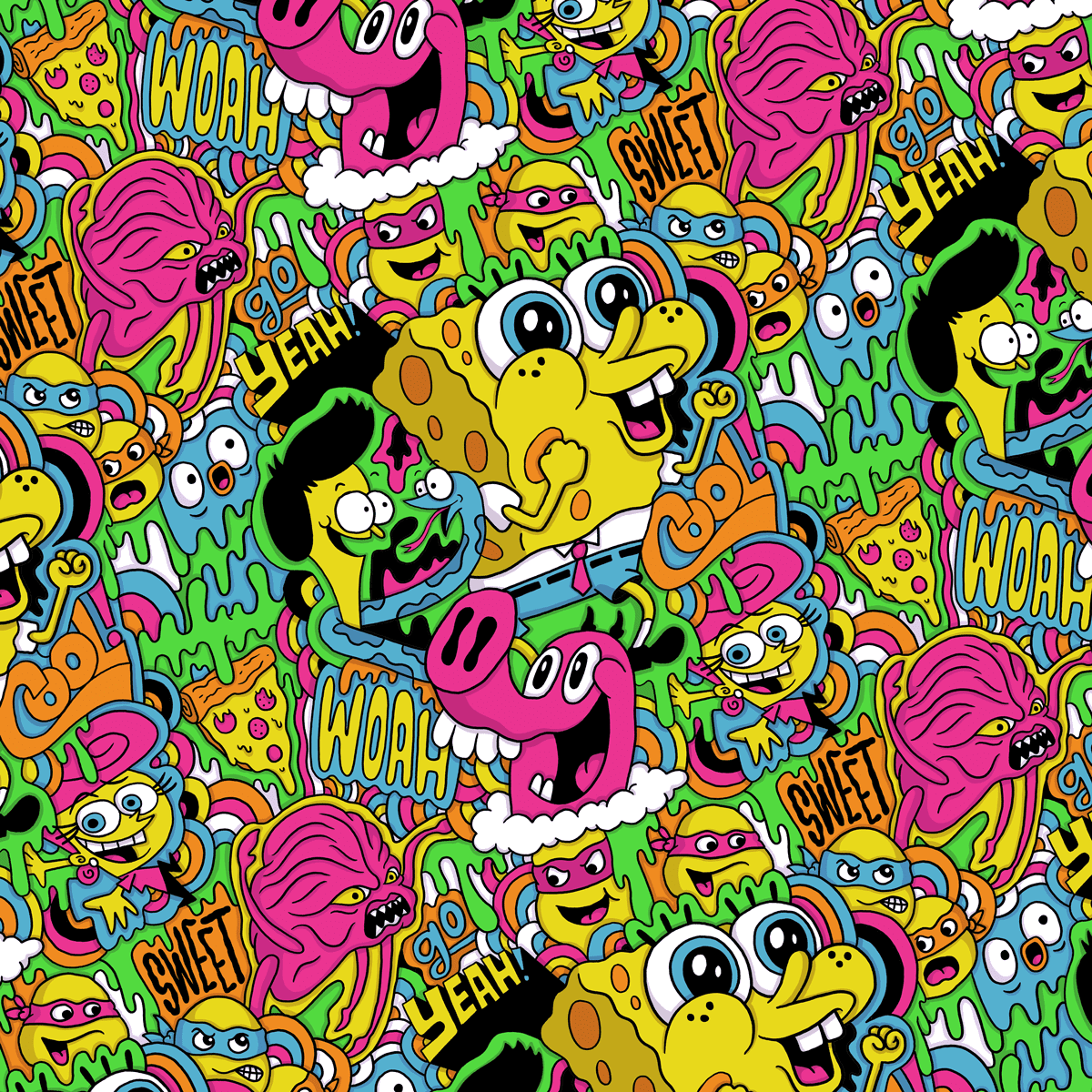Nickelodeon Character Patterns