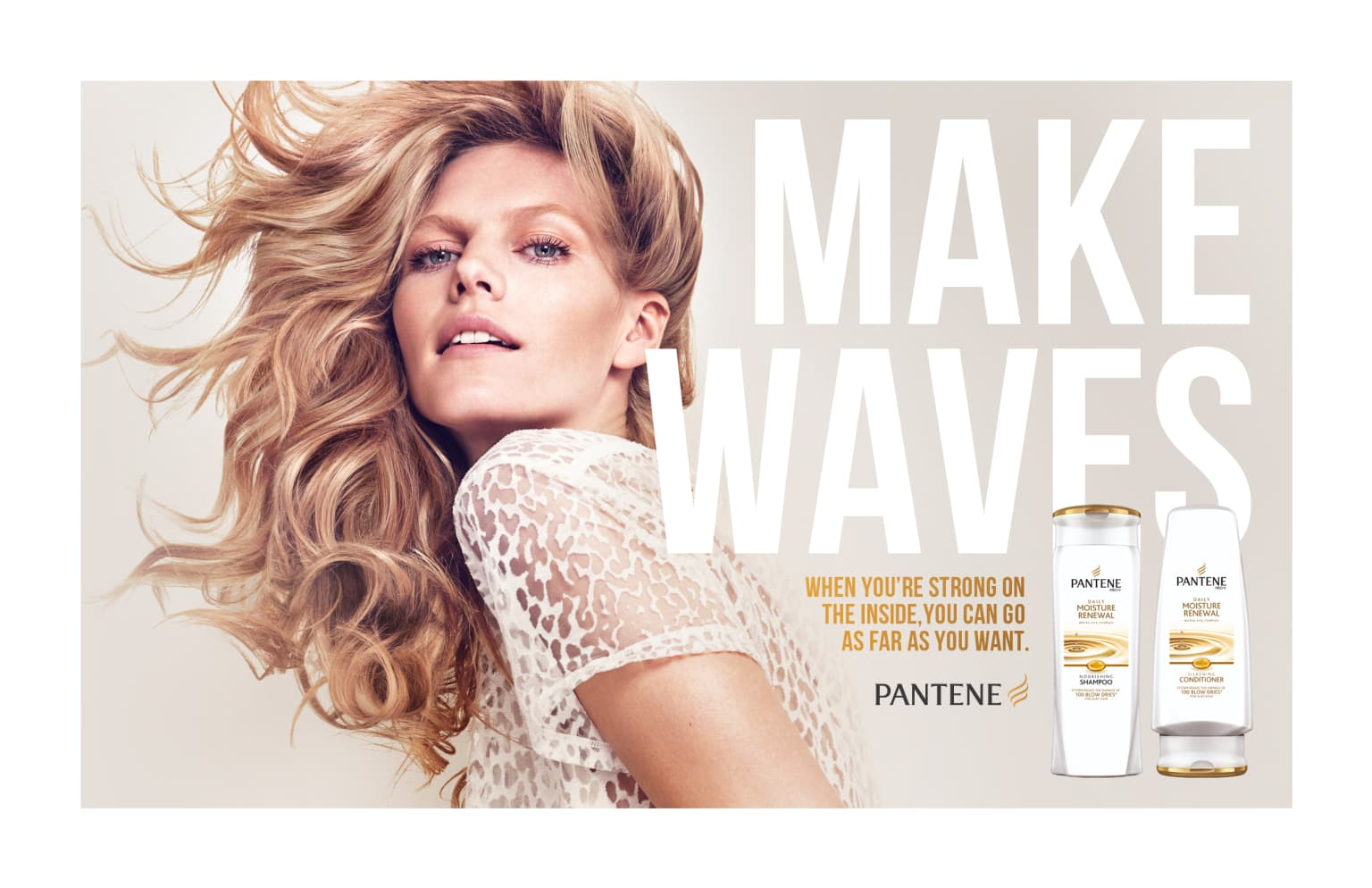 "PANTENE ""STRONG IS BEAUTIFUL"""