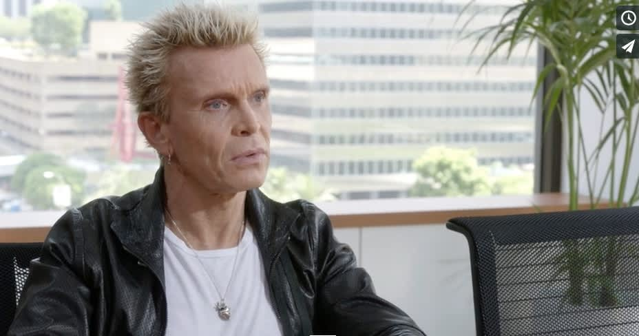 Billy Idol for Bank of America