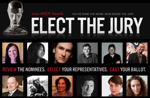 "The Andy Awards ""Elect the Jury"""