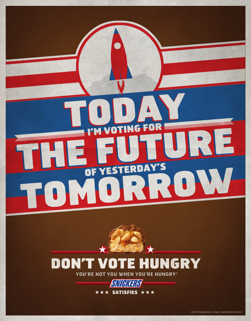 Snickers Don't Vote Hungry