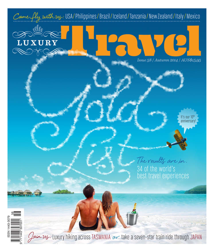 Cover – Luxury Travel – Autmn 2014
