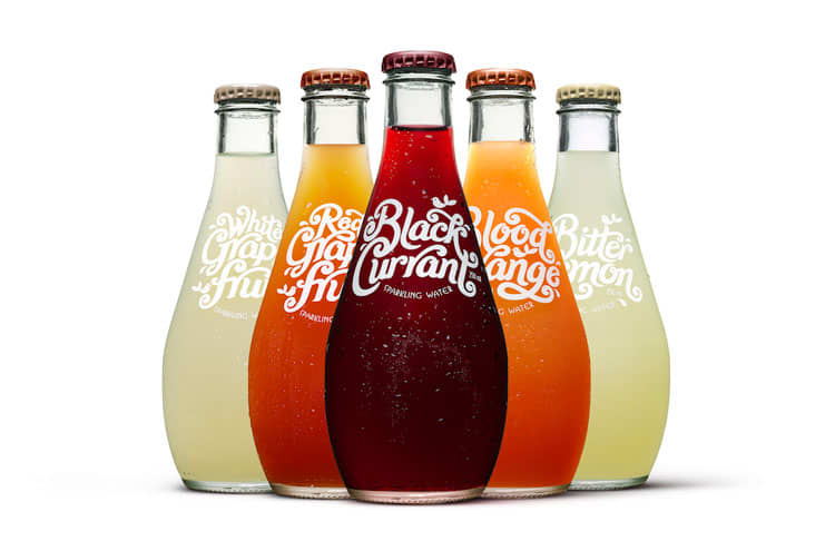 All Good Organics – Sparkling Label Lettering