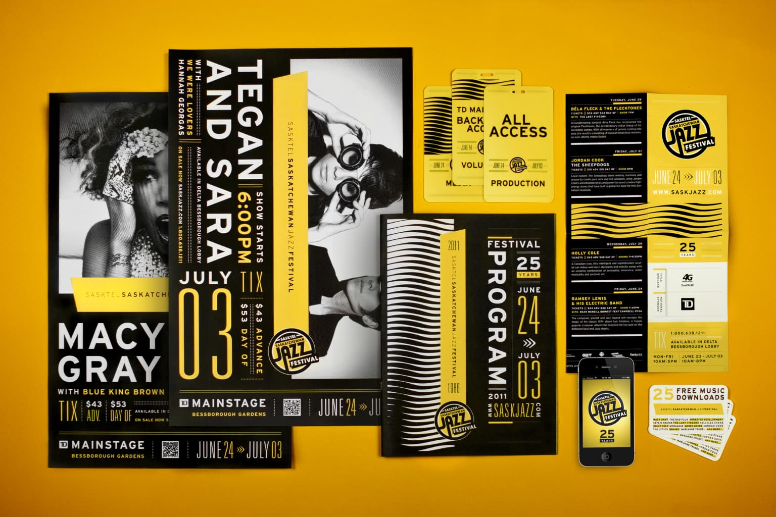 Saskatchewan Jazz Festival Redesign