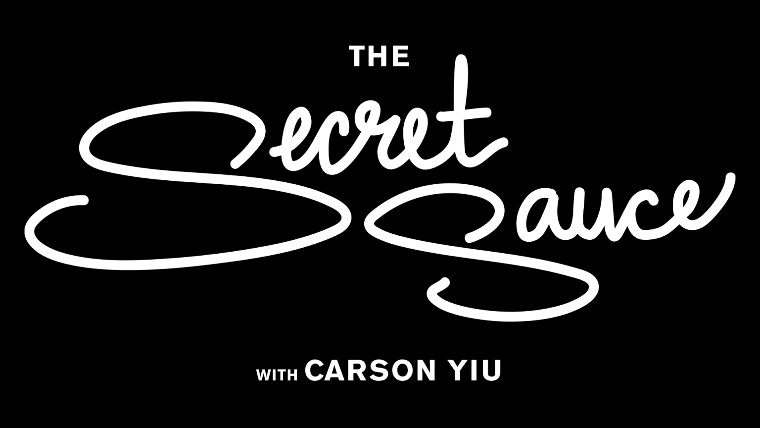 The Secret Sauce Web Series Title Card & Animation