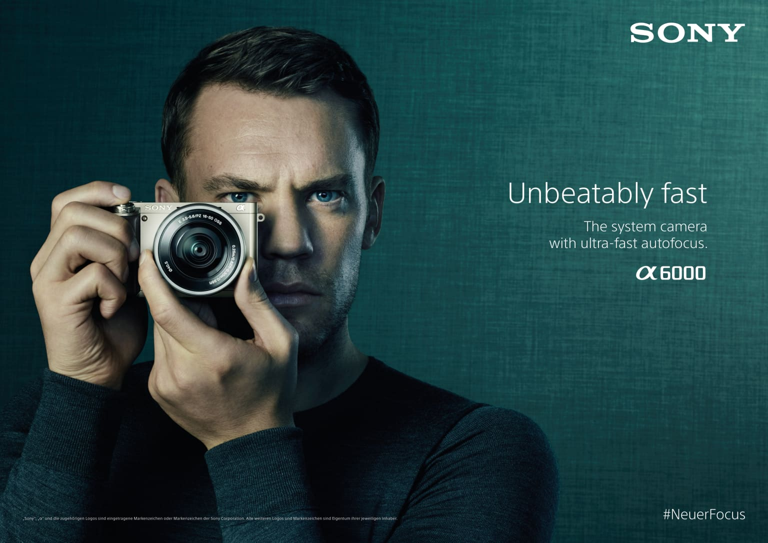 Sony Alpha6000 Campaign