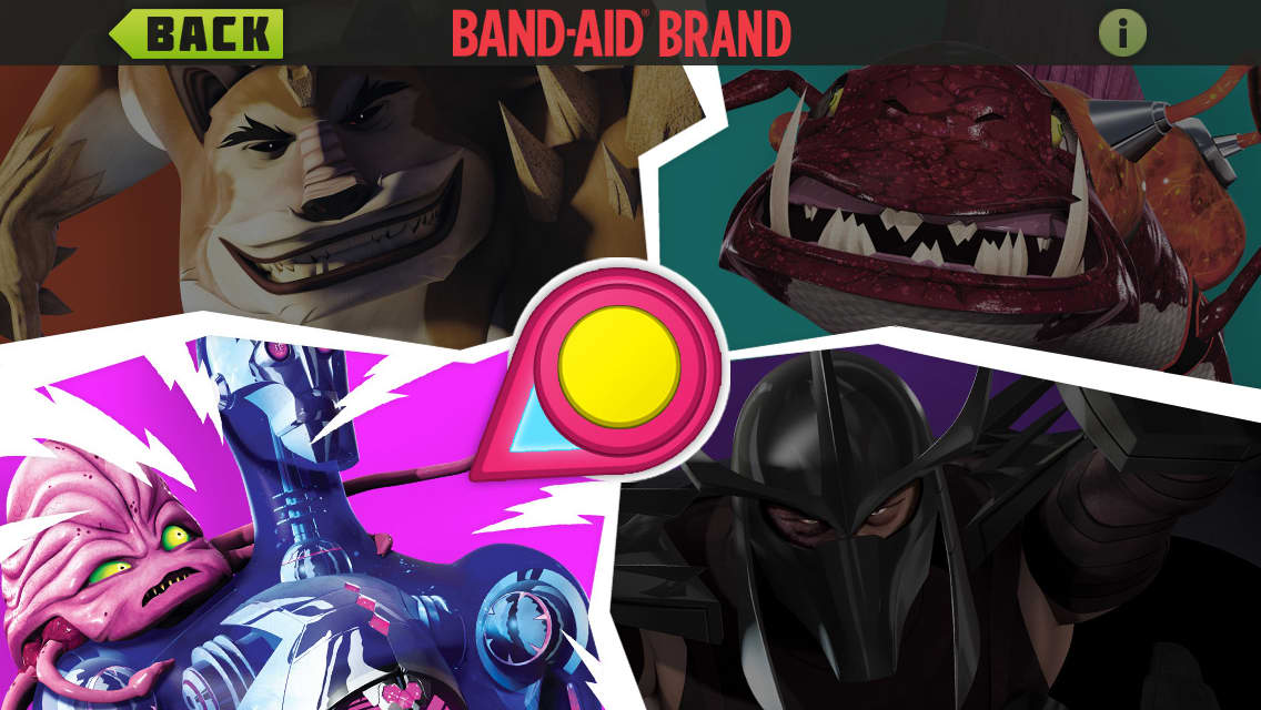 Bandaid Brand Magic Vision: Teenage Mutant Ninja Turtles