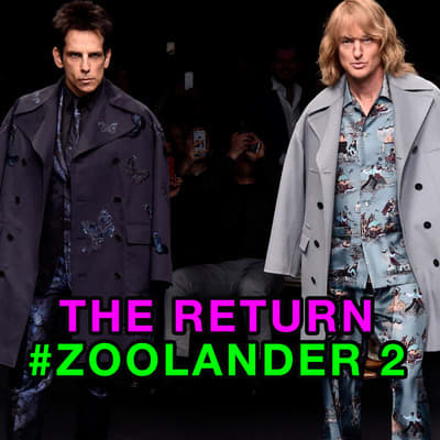 Zoolander Crashes the Runway