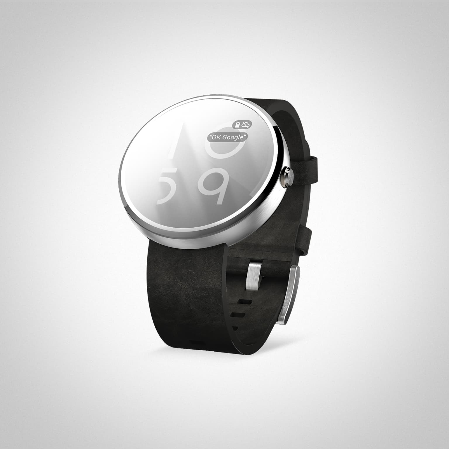 Shadowclock for AndroidWear