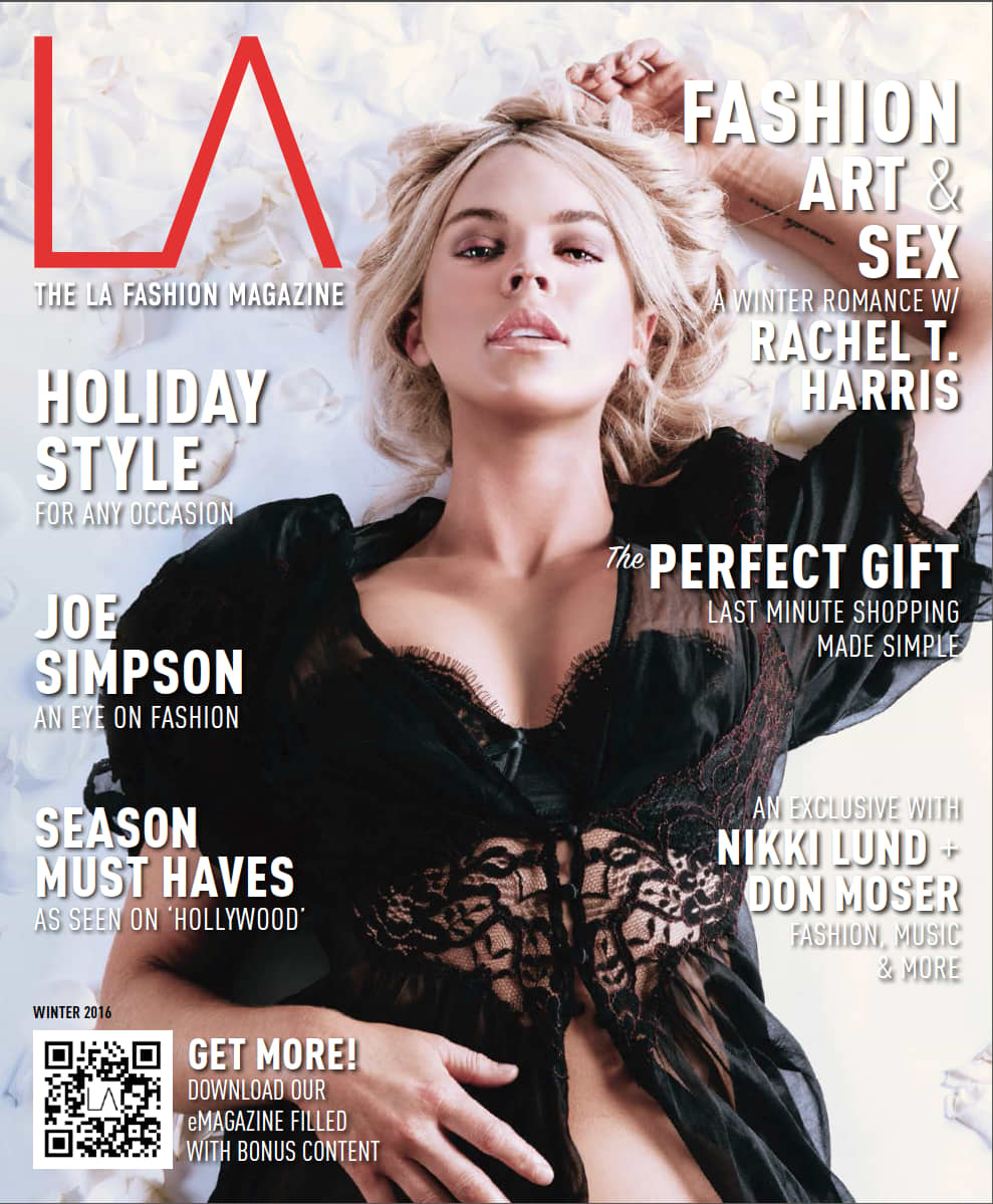 Cover and editorials for The LA Fashion Magazine