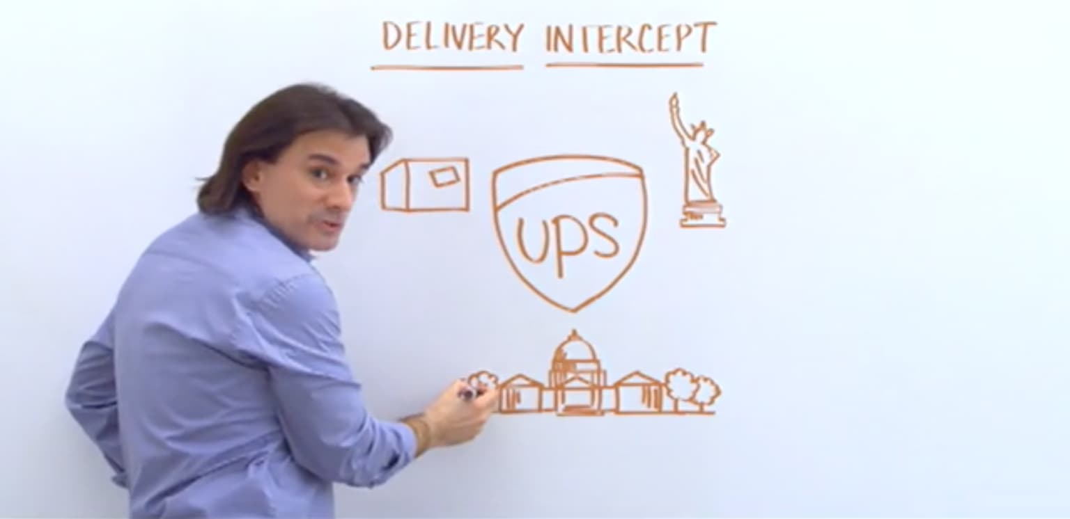 UPS Whiteboard Campaign