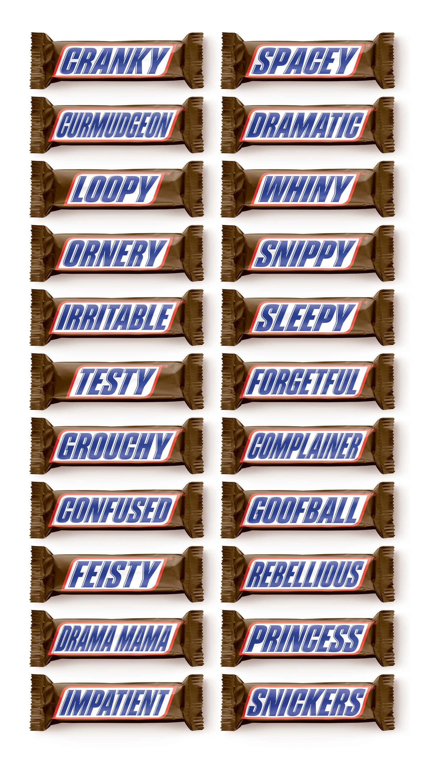 Snickers - Hunger Bars