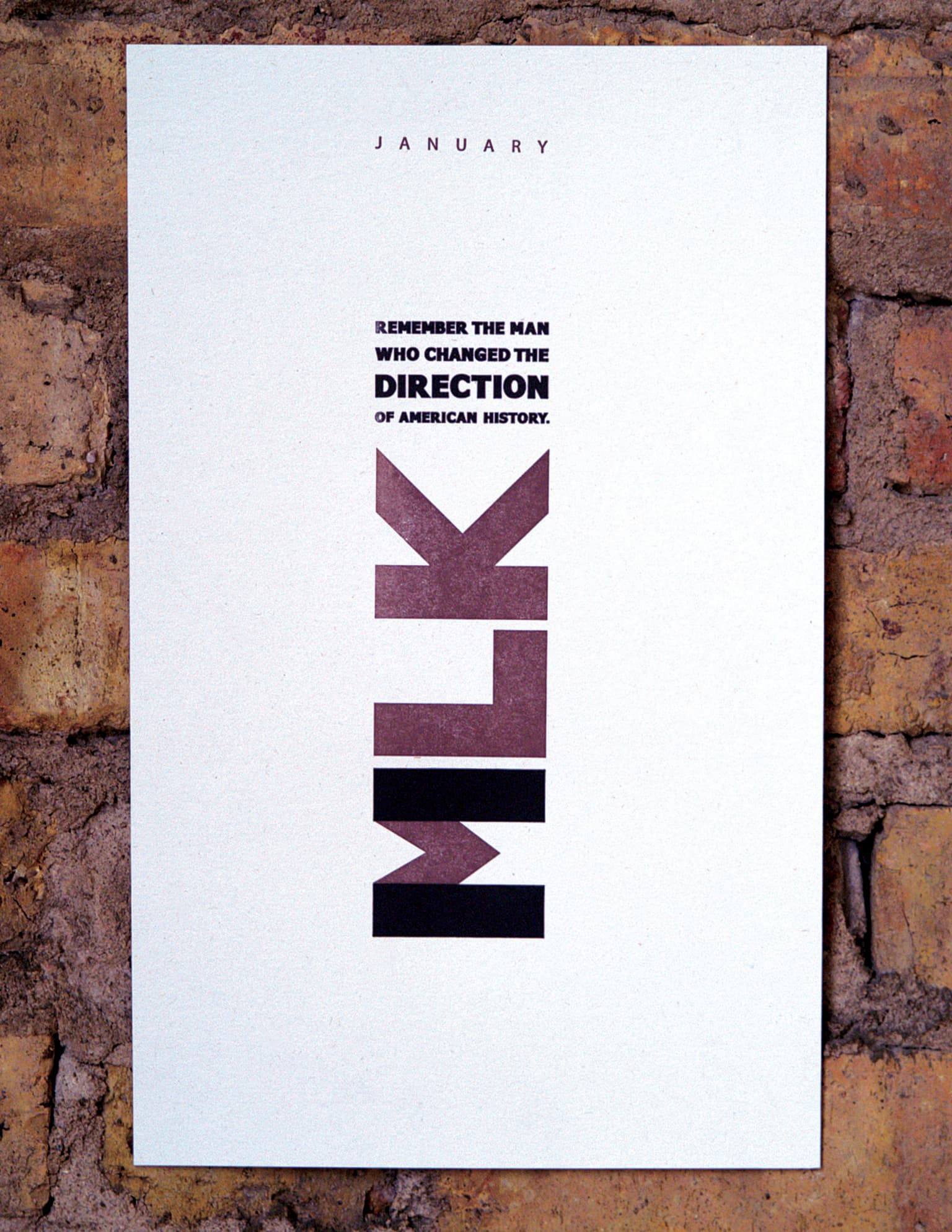 MLK DAY POSTER CAMPAIGN