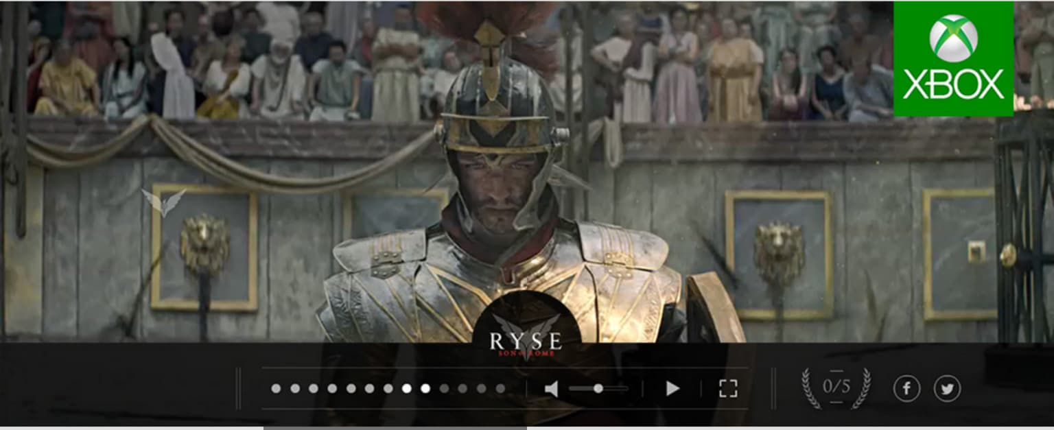 Ryse: Son of Rome - Interactive Video