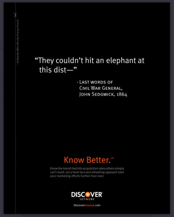 DISCOVER Know Better campaign