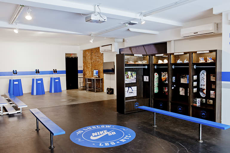 Nike SB Pop-up space