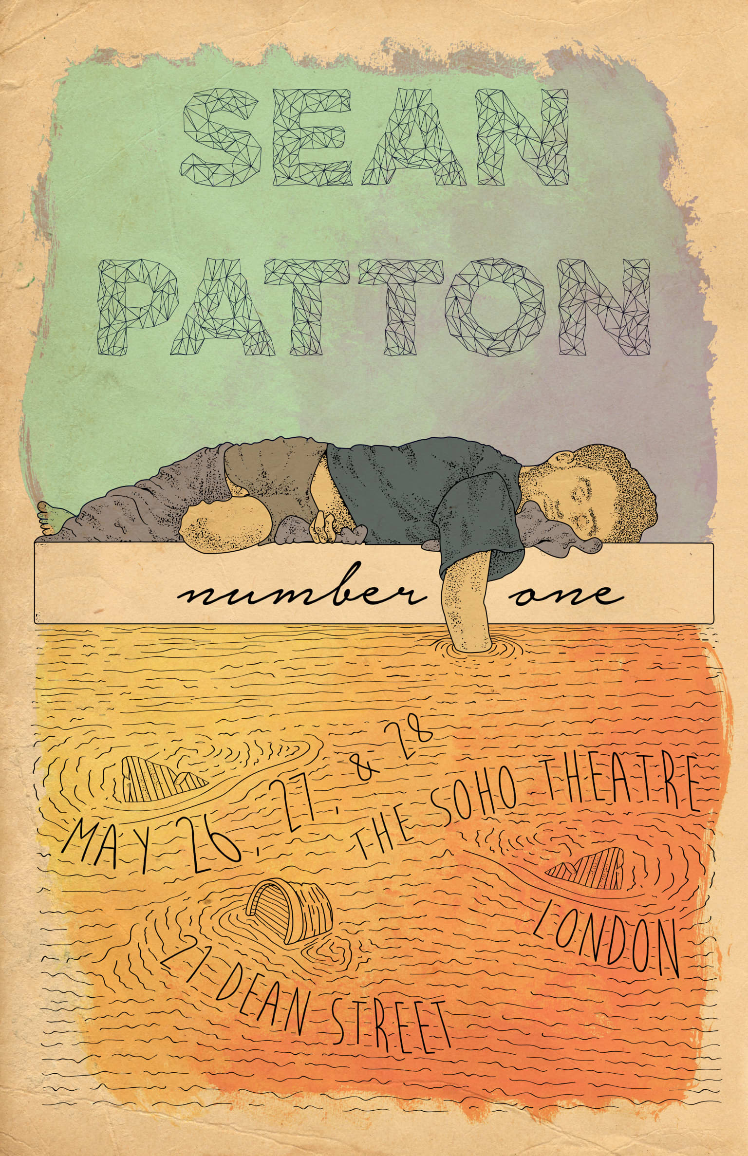 Sean Patton's Number One Poster