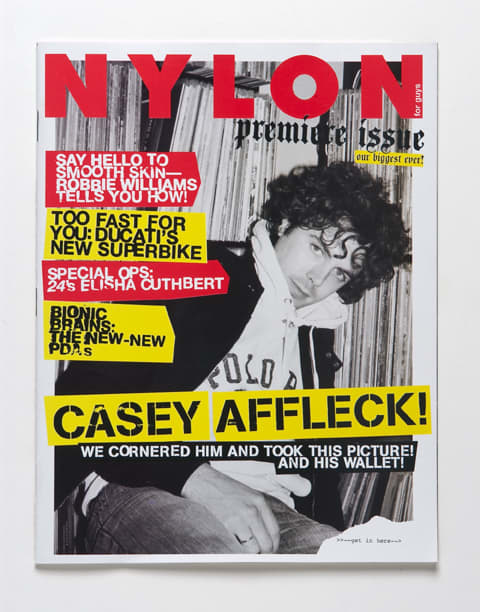 Premiere Issue of NYLON for GUYS