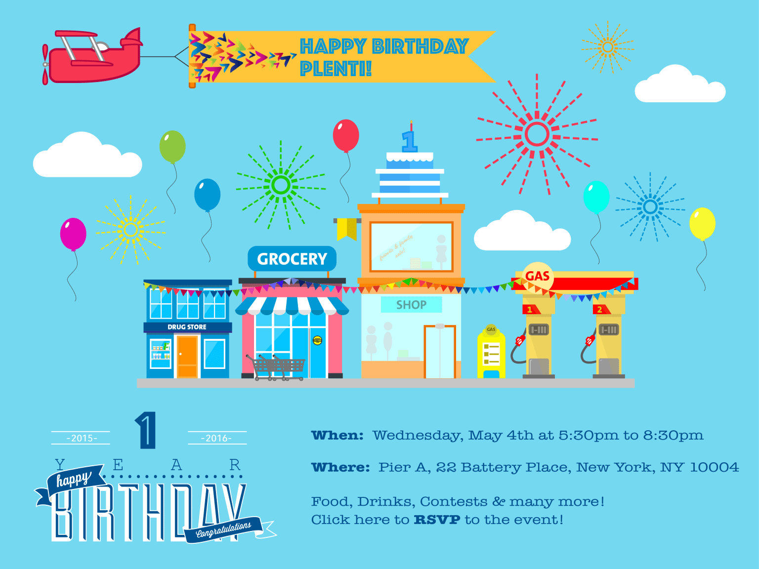 Visual Design for Plenti's Celebration