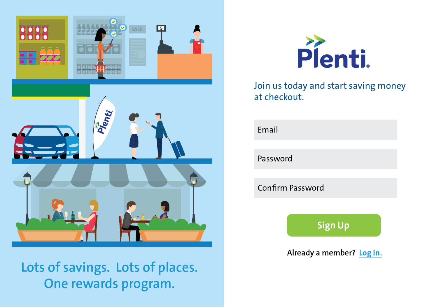 Landing Page Redesign for Plenti