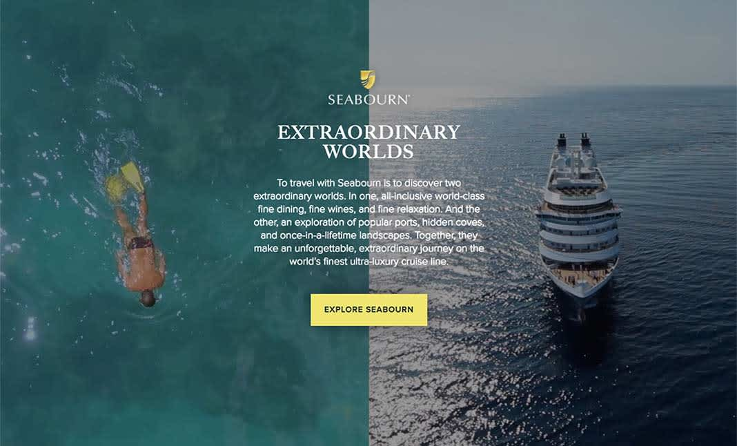 The Extraordinary Worlds of Seabourn