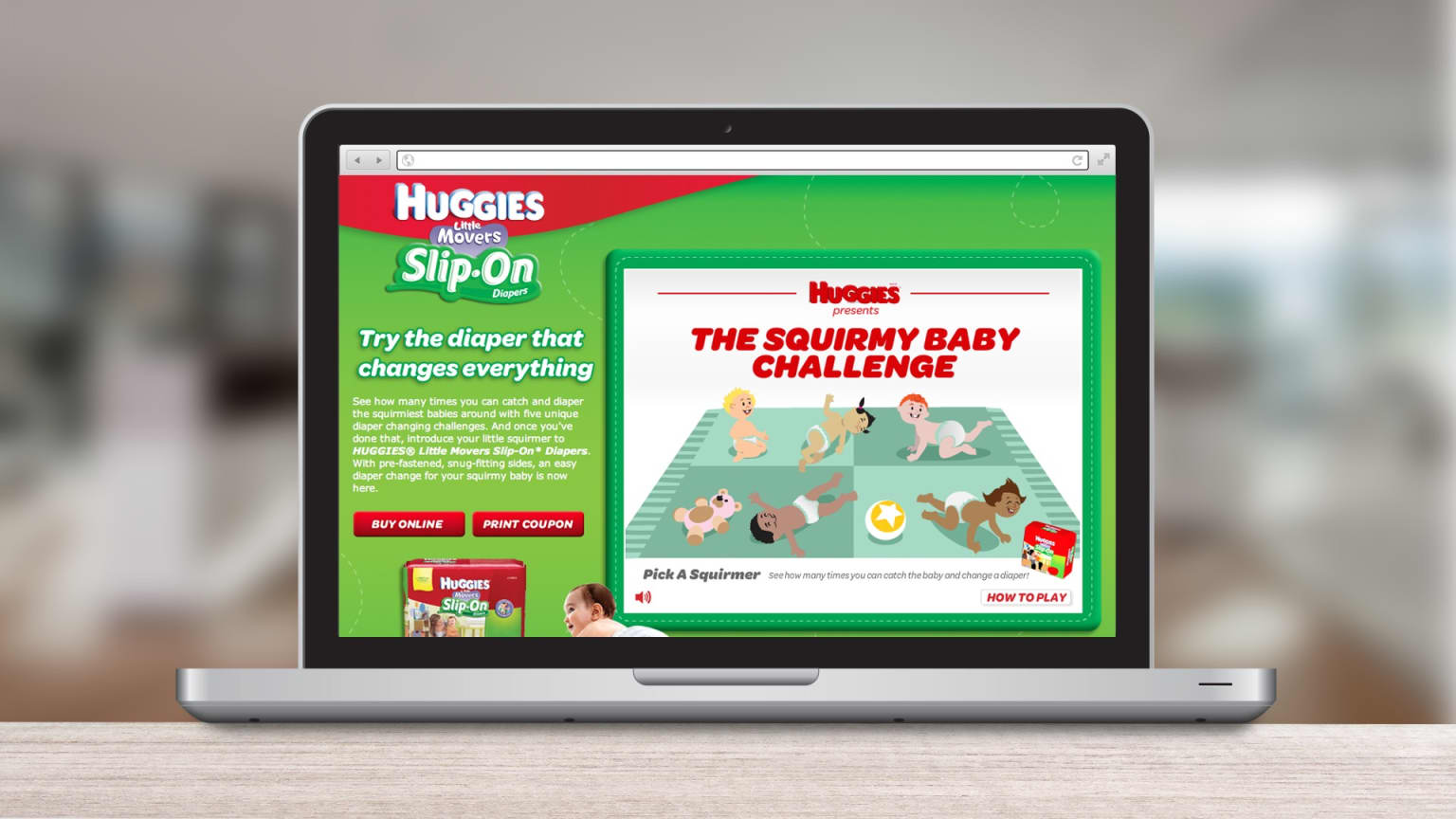 Huggies Digital Experiences