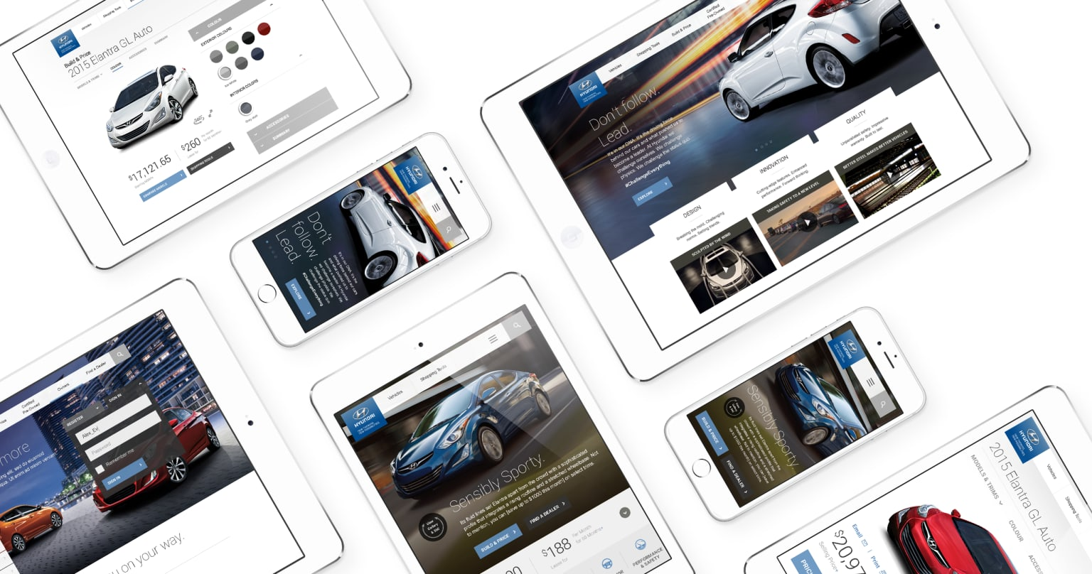 Hyundai Responsive Design Pitch