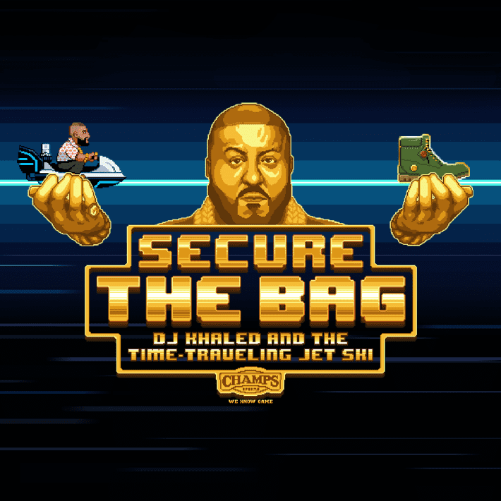 Champs - Secure the Bag Retro Game