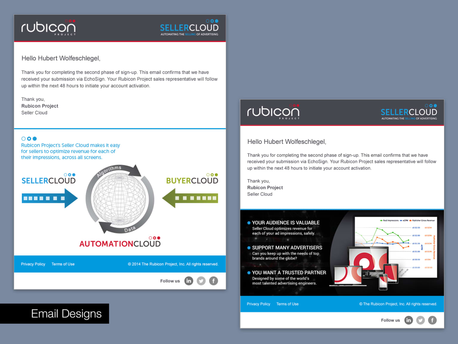 Rubicon Project Ad-tech Platform UX Design