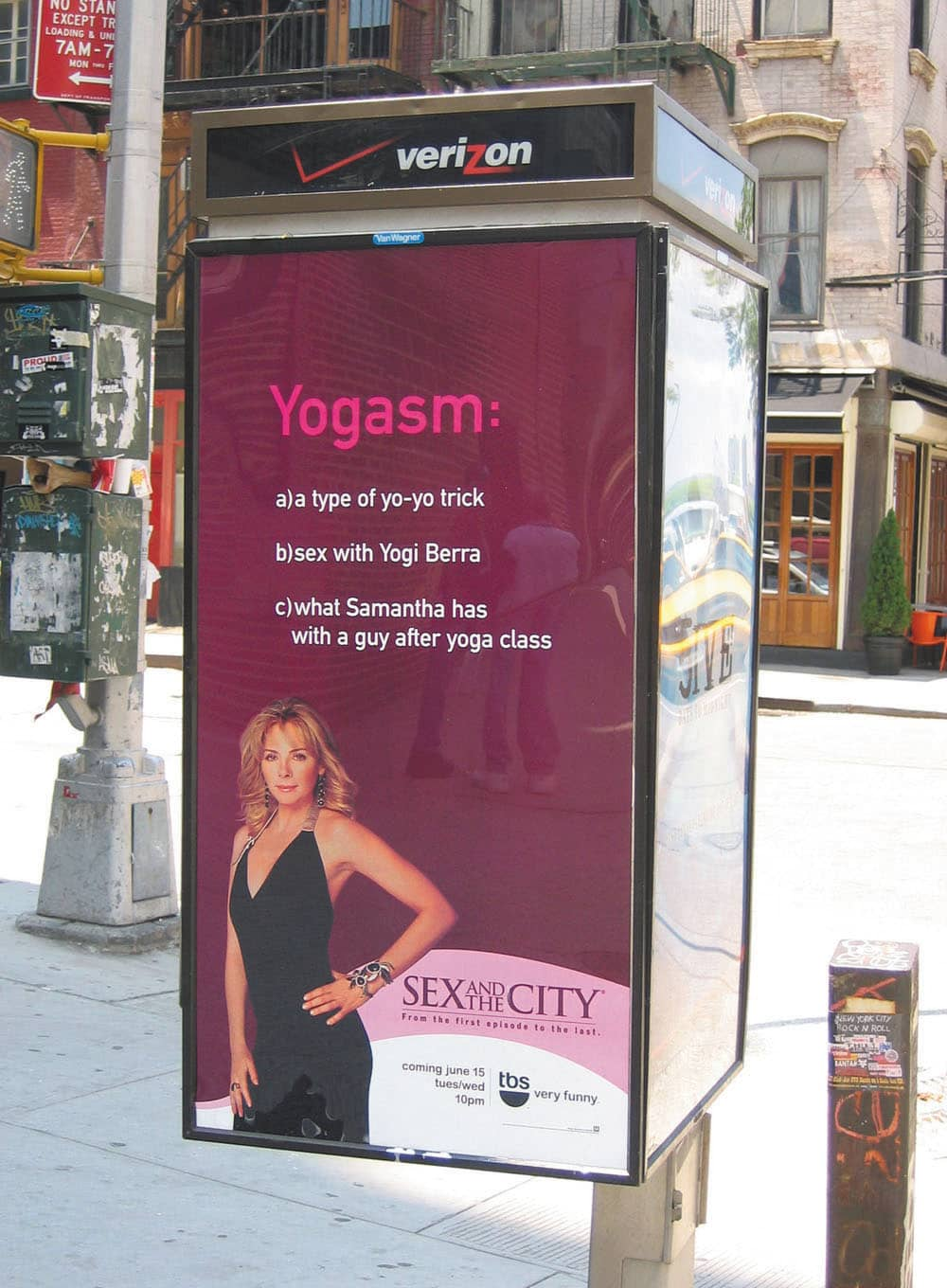 TBS Sex & the City Launch Integrated Campaign