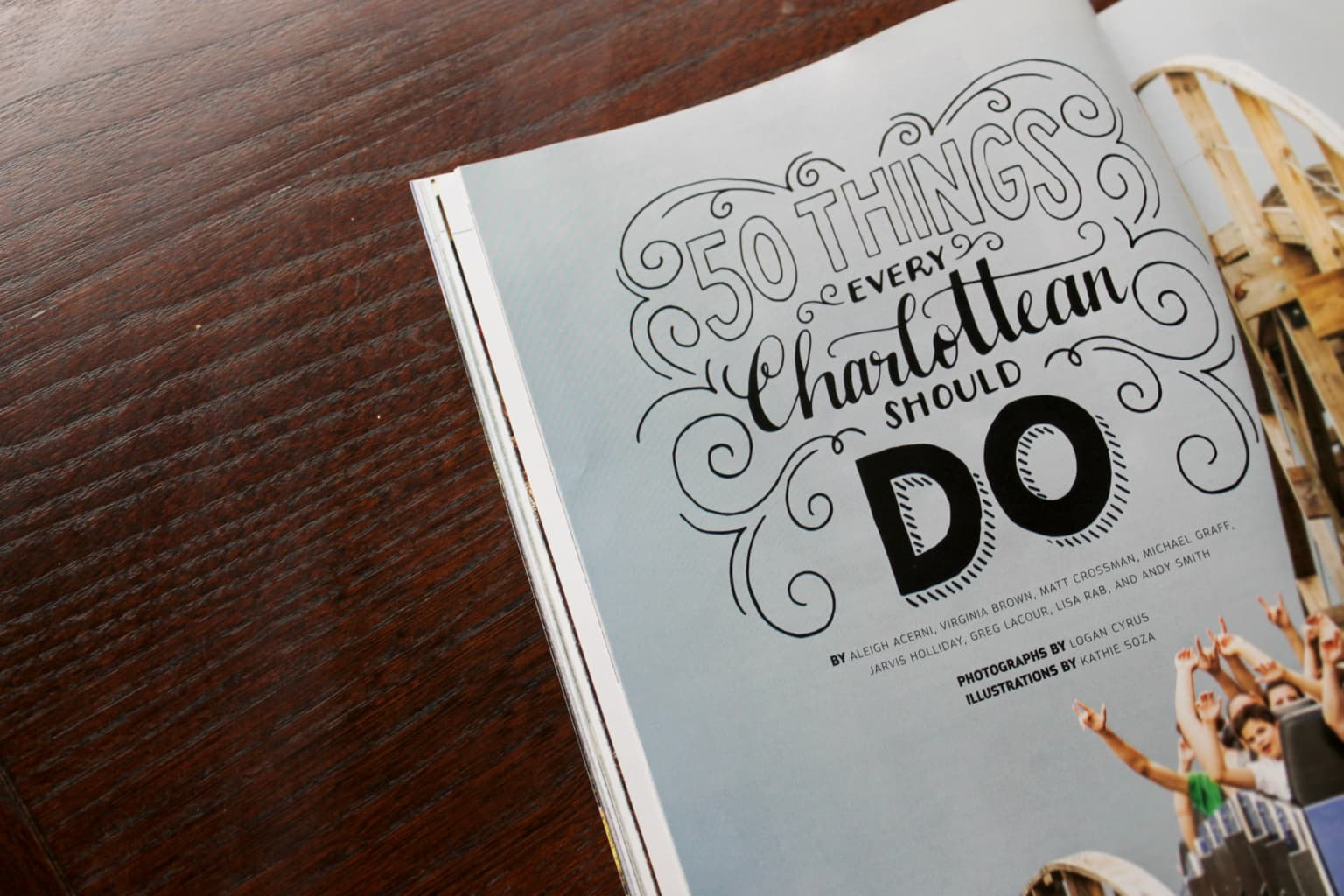 Charlotte Magazine - 50 Things Every Charlottean Should Do