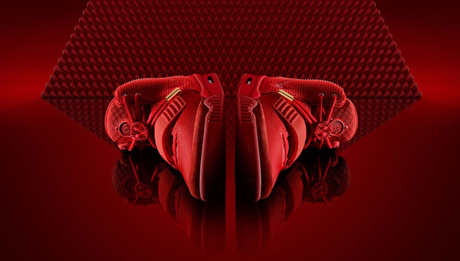 Nike & Kanye West - Red Octobers