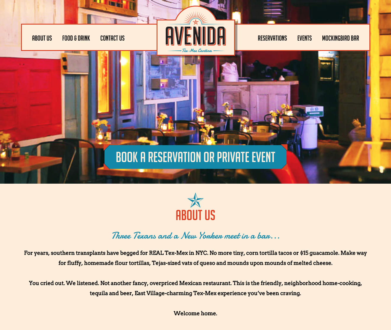 Avenida Tex-Mex Cantina // Creative Direction & Desig