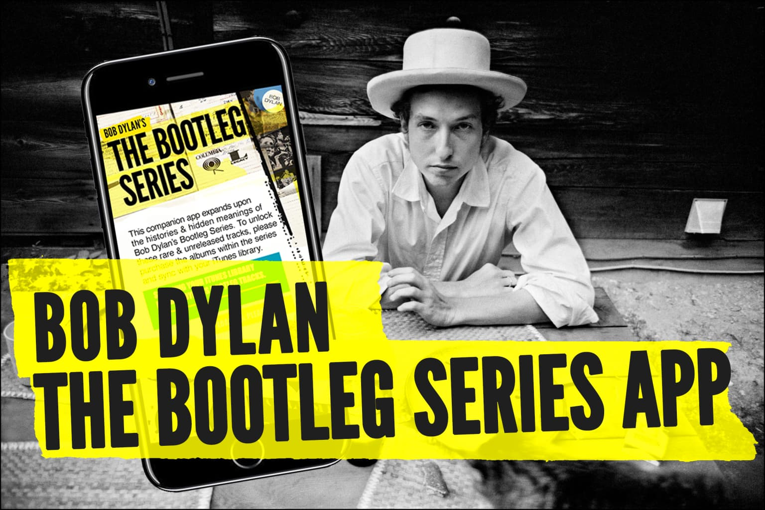 Bob Dylan The Bootleg Series App