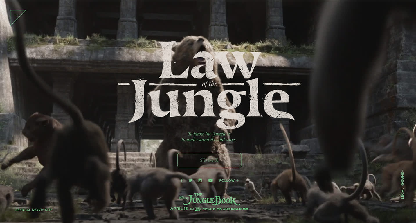 Jungle Book - The Law of the Jungle