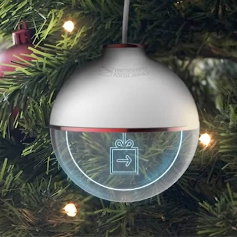 USPS Package Tracking Ornament