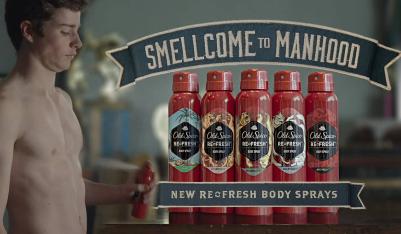 Old Spice - Smellcome to Manhood