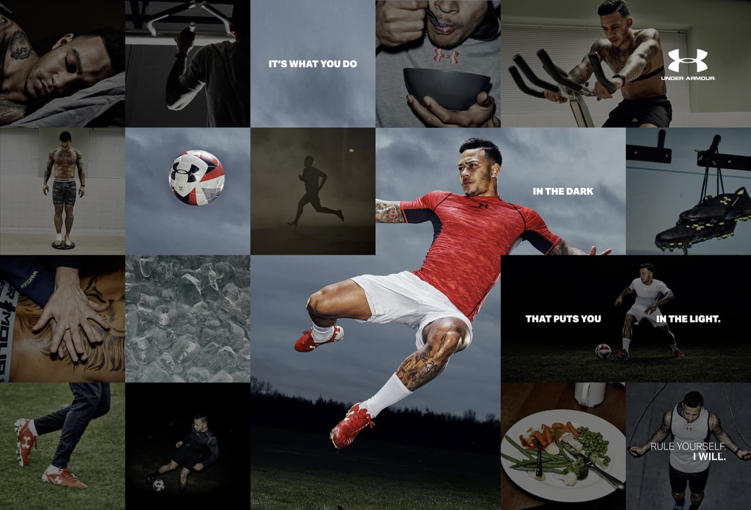 Under Armour RULE YOURSELF Campaign