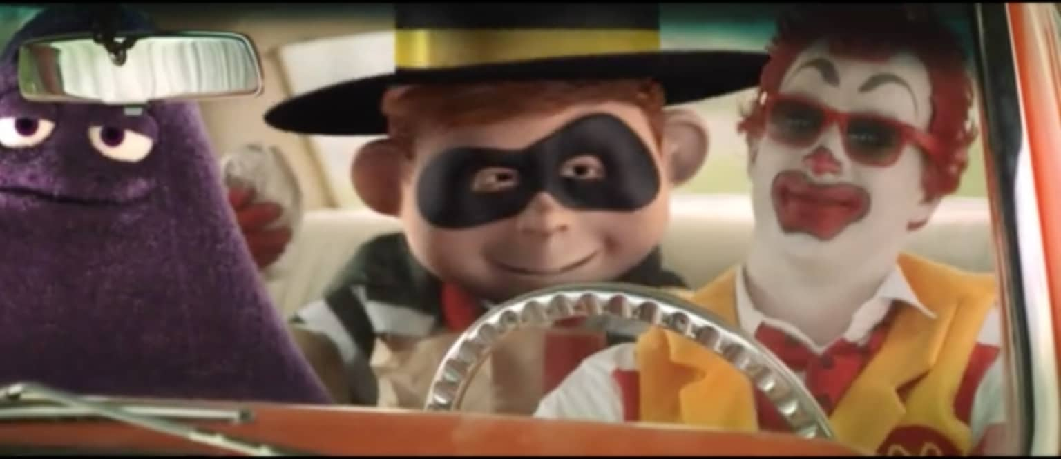 McDonalds Hamburglar Video